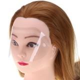 Маска Face Pro для защиты лица при стрижке прозрачная