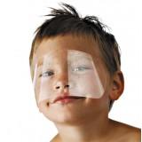 Маска парикмахерская для защиты детского лица при стрижке (упаковка 50шт)