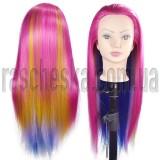 Обучающий манекен головы с волосами для причесок