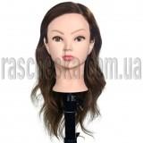 Голова с натуральными волосами для обучения наращиванию волос