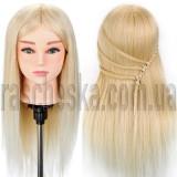 Манекен с натуральными волосами для наращивания волос