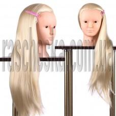 Голова манекен для макияжа и плетения волос учебная