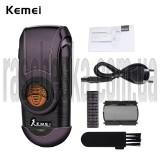 Портативная электробритва Kemei KM-Q788 (черный)