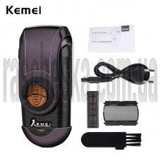 Портативная электробритва Kemei KM-Q788 черный