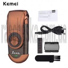 Портативная электробритва Kemei KM-Q788 медный