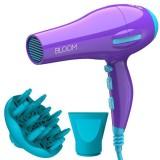 Фен для волос с ионизацией 2200W GaMa BLOOM FLOW ION PURPLE GH2422
