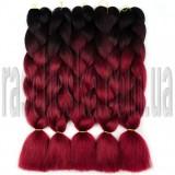 Канекалон для кос Двухцветное омбре №6