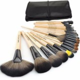 """Набор профессиональных кистей для макияжа 24 шт """"Makeup Brushes BLACK"""""""