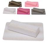 Подлокотник с ковриком для наращивания ногтей Питон Белый