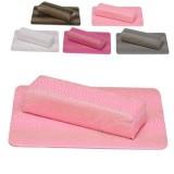 Подлокотник с ковриком для наращивания ногтей Питон Розовый