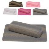 Подлокотник с ковриком для наращивания ногтей Питон Шоколад