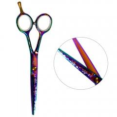 Ножницы для стрижки волос прямые ESTET 5.5 хамелеон