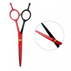 Ножницы для стрижки ESTET 5.5 черно-красные