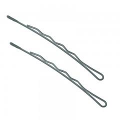 Невидимки TICO Professional укороченные 300626 серебристые - длина 70 мм, вес 200 гр
