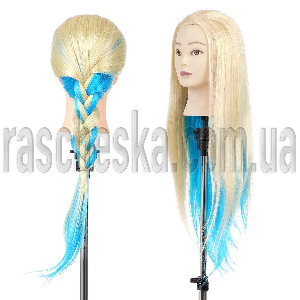 манекен головы с волосами
