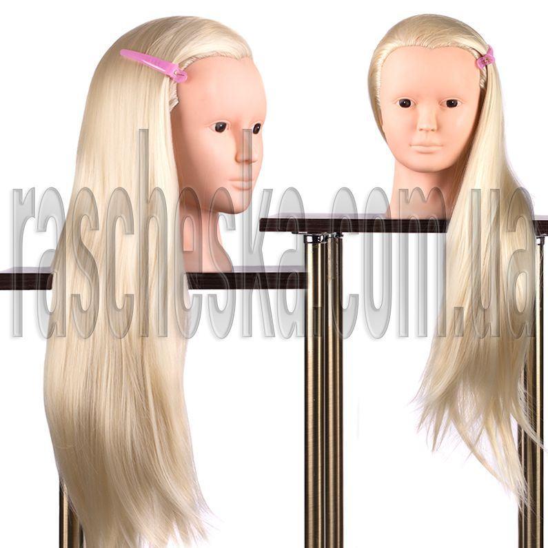 Учебная голова манекен для макияжа и плетения волос